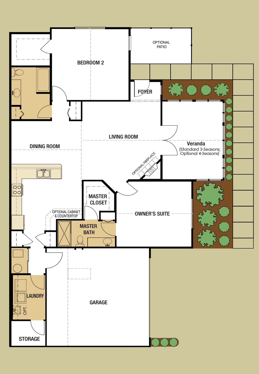 Abbey Floorplan