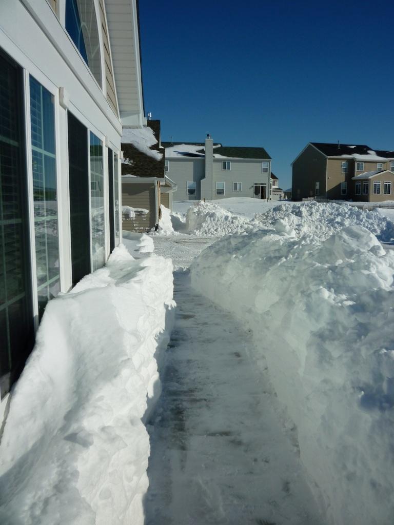sidewalk after
