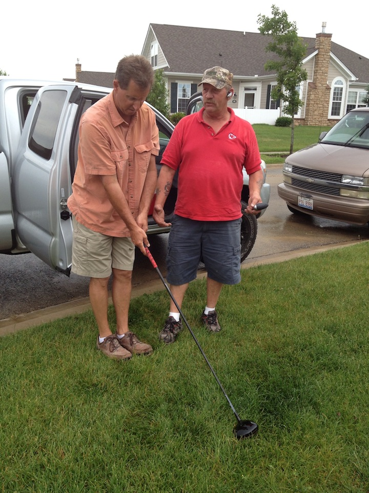 Steve Bob golf