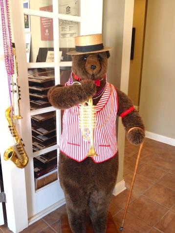 mardi bear