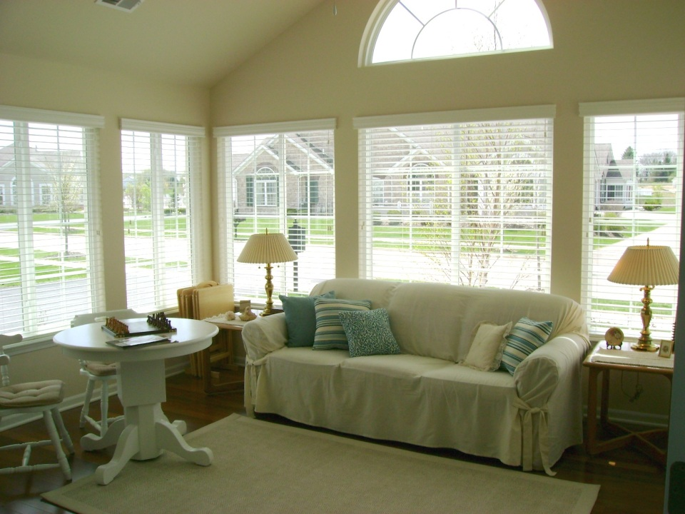 The veranda, or sun room