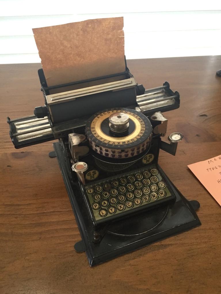typewriter cu